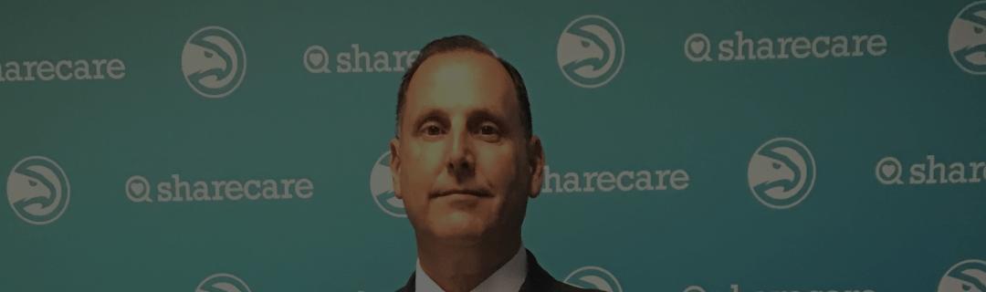 Vice-presidente executivo de negócios da Sharecare visita o B …